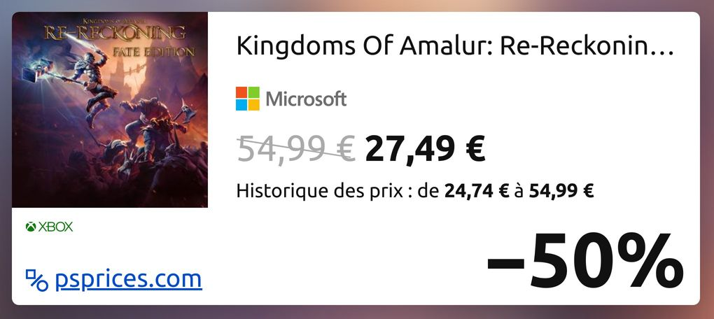 Kingdoms Of Amalur: Re-Reckoning Fate Edition for XOne ...