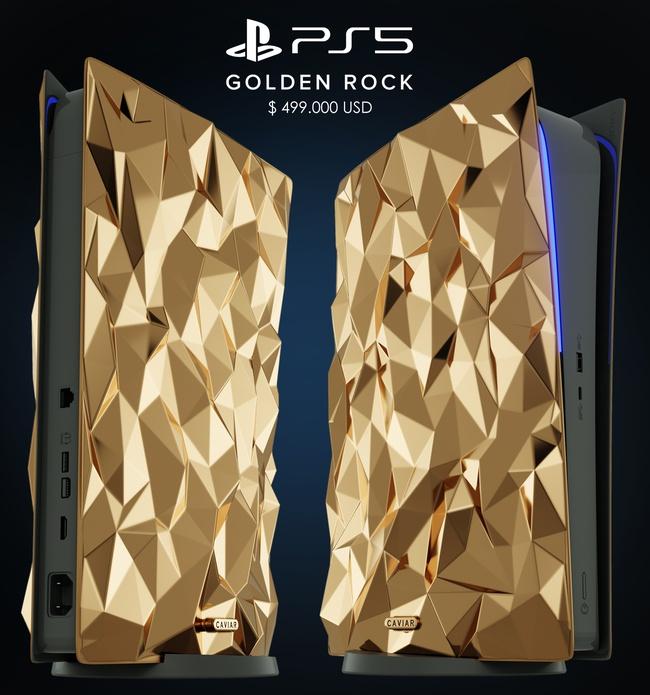 Sony PS5 Golden Rock van Caviar