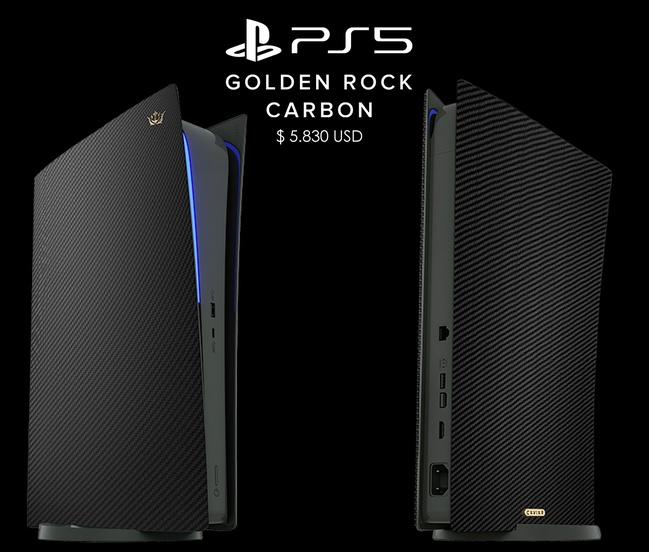 PlayStation 5 Black Carbon